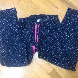 🚨2/$15🚨 OLD NAVY | 💕 Hearts Arrow S PJ pants